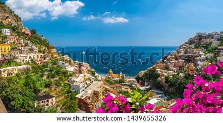 Positano village Stock photo © Alex9500