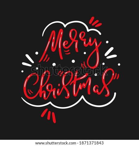 Christmas briefkaart wensen seizoenen Stockfoto © ussr