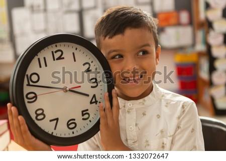 muro · clock · bianco · business · tempo · nero - foto d'archivio © wavebreak_media