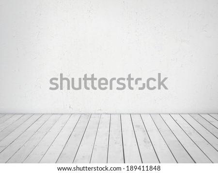 üres szoba festett fekete fal fehér fapadló Stock fotó © sedatseven
