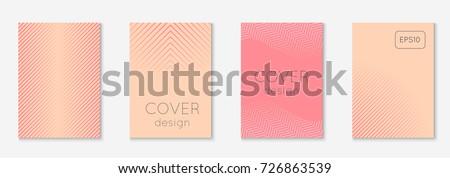 Resumen medios tonos futurista plantillas carteles folletos Foto stock © ExpressVectors