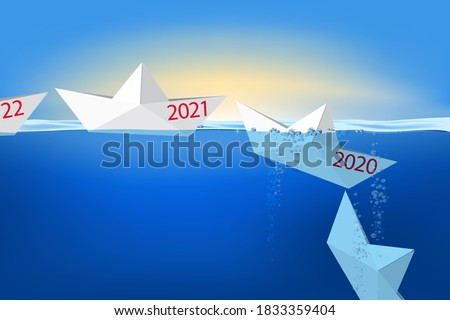 Pasado año nuevo 3d negocios resumen Foto stock © Oakozhan