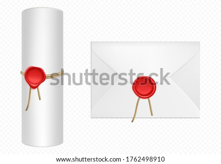 Convolute in a roll packages Stock photo © dvarg