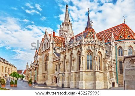 Церкви Будапешт Венгрия мнение синий замок Сток-фото © vladacanon
