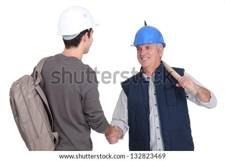 construtor · dolorido · cabeça · trabalhar · triste · trabalhador - foto stock © photography33