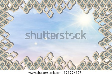Plasterer working on ceiling motif Stock photo © photography33