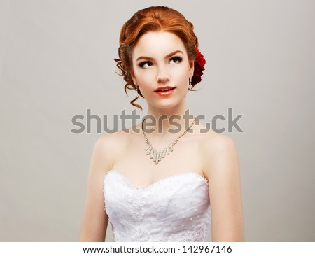 Elegance. Sentimental Affectionate Woman in Reverie. Exquisiteness Stock photo © gromovataya