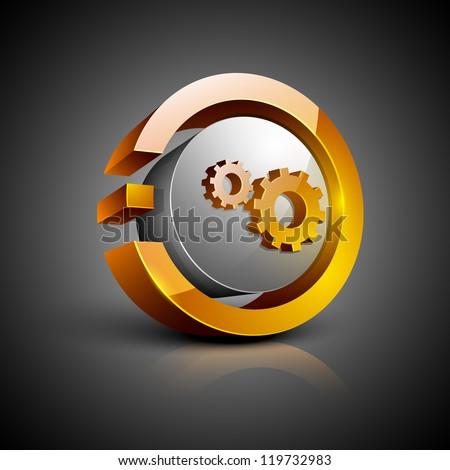 Résumé icône lumière web Photo stock © rioillustrator