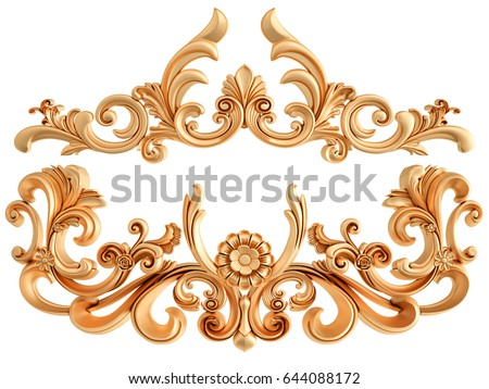 Oude ornament decoratief patroon illustratie geïsoleerd Stockfoto © WaD