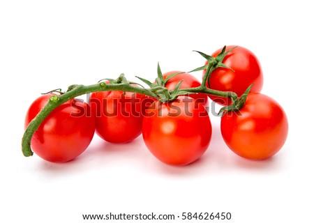 Tomates videira isolado branco tomates Foto stock © EwaStudio