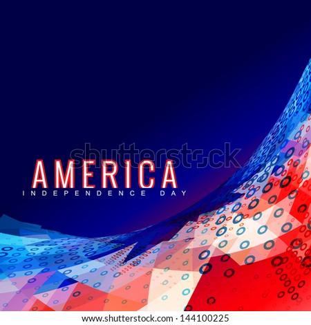 抽象的な デザイン アメリカン 日 創造 スタイリッシュ ストックフォト © bharat