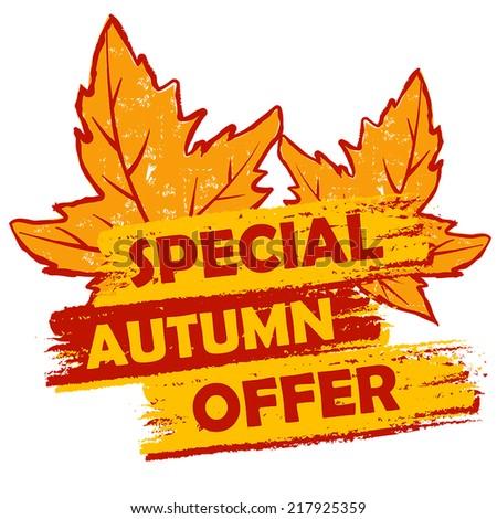 étiquette · automne · favori · saison · automne - photo stock © marinini