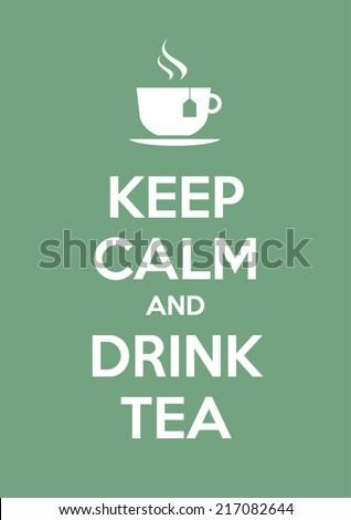Higgadt ital tea kreatív klasszikus portré Stock fotó © Fisher