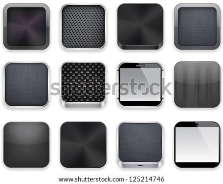 Multimedialnych internetowych Internetu placu wektora czarny Zdjęcia stock © rizwanali3d