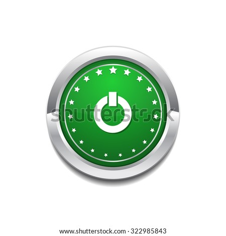 Power Circular Vector GreenWeb Icon Button Stock photo © rizwanali3d
