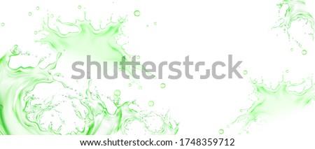 извести белый листьев изолированный иллюстрация фрукты Сток-фото © ConceptCafe