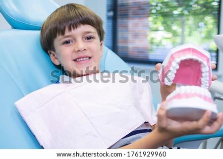 мальчика стоматологических плесень сидят Председатель Сток-фото © wavebreak_media