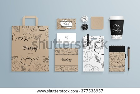 Brand identity concept with Business Doodle design style: compan Stock photo © DavidArts