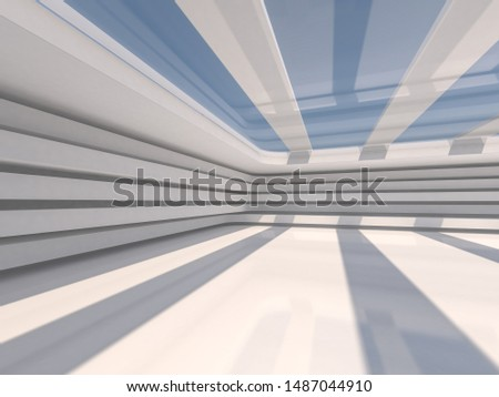 Abstract modern architecture background, empty open space interi Stock photo © user_11870380