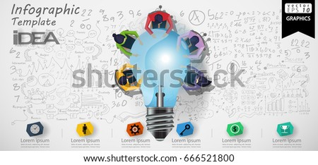conceptual image teamwork on white background isolated 3d illus stock photo © iserg