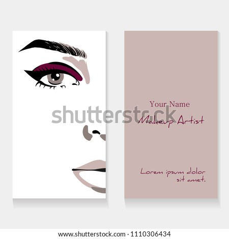 makyaj · güzellik · Asya · kadın · temel - stok fotoğraf © nobilior