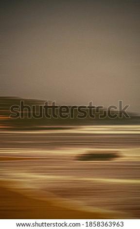Soyut bağbozumu sahil doğa uzun pozlama görmek Stok fotoğraf © Anneleven