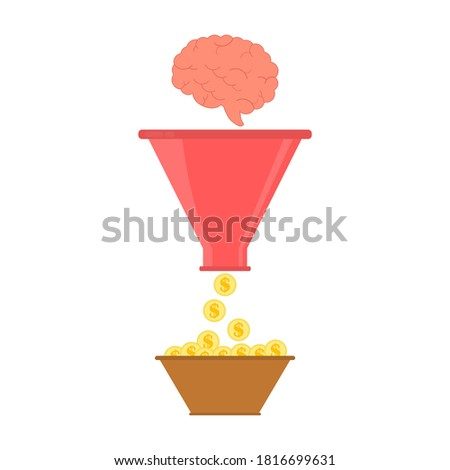 мозг · конус · воронка · медицинской · тело · фон - Сток-фото © adrian_n