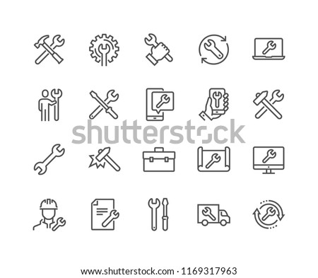 Sign wrench service and repair Stock photo © Ustofre9