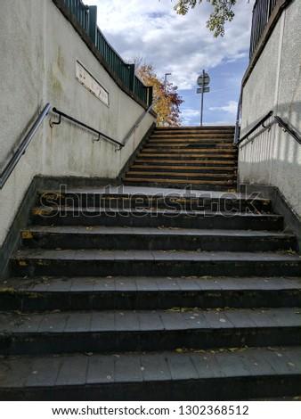 voetganger · metro · Duitsland · stad · muur · winkelen - stockfoto © meinzahn