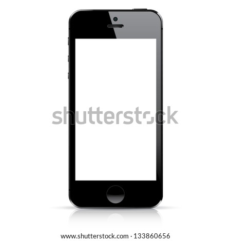 Perfectly detailed modern smart phone   Stock photo © netkov1