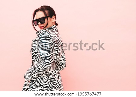 Portret mooie sexy mode meisje Stockfoto © majdansky