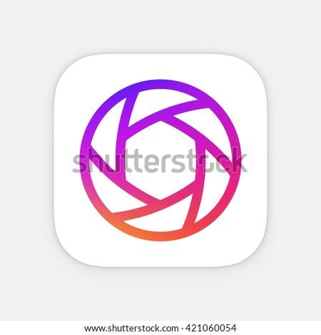 Quadro aplicativo ícone modelo móvel aplicação Foto stock © Said