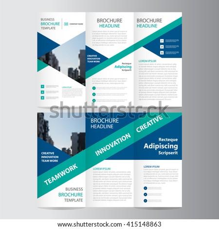 Tiszta minimális brosúra szórólap prospektus terv Stock fotó © SArts