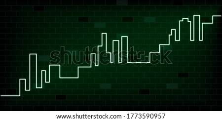 аннотация черный зеленый кирпичных посмотреть вектора Сток-фото © kurkalukas
