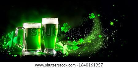 святой день дизайна свежие темно пива Сток-фото © articular