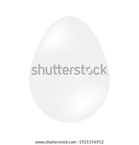 Egg of a dinosaur on a white background. Realistic vector illustration Stock photo © m_pavlov