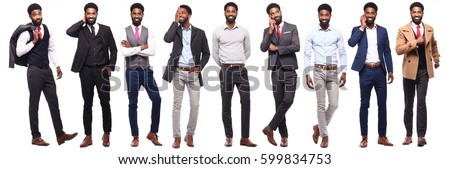 肖像 小さな アフリカ系アメリカ人 男 笑みを浮かべて ストックフォト © deandrobot