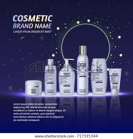 化妝品 瓶 海報 向量 光明 商業照片 © pikepicture