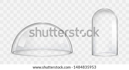 Transparent Glass Vector. Kitchen Design. Empty Clear Glass Cup. For Water, Drink, Wine, Alcohol, Ju Stock photo © pikepicture