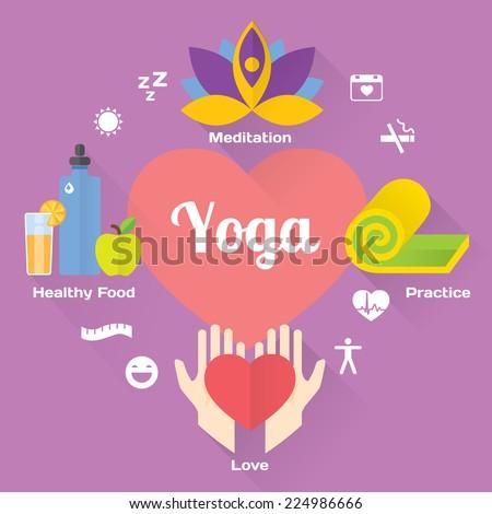 йога фитнес медитации дизайна изолированный Сток-фото © WaD