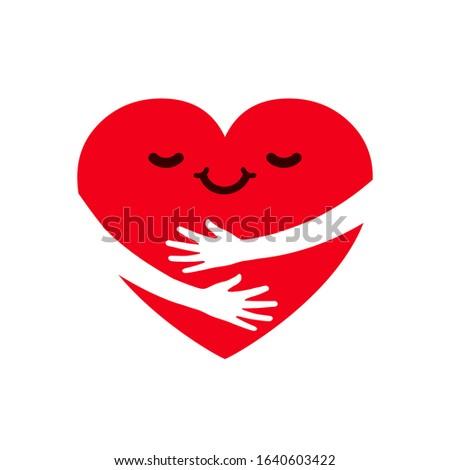 Mains coeur œuvre de bienfaisance contribution volontaire aider Photo stock © Winner