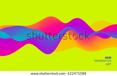 Ruchu kolorowy streszczenie dynamiczny efekt szablon Zdjęcia stock © fresh_5265954