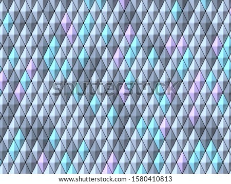 Abstract geometric four pastel color Vertical rhombus background Stock photo © djmilic