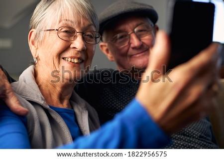 フロント 表示 幸せ シニア 白人 カップル ストックフォト © wavebreak_media