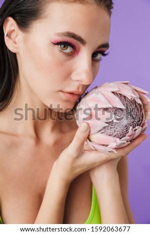 foto · belo · sexual · mulher · posando - foto stock © deandrobot