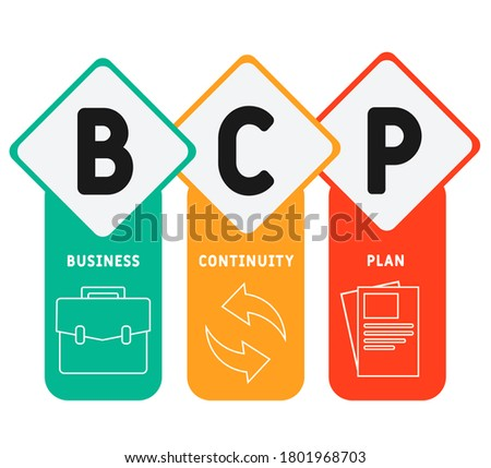 Business continuity and disaster recovery concept landing page Stock photo © RAStudio