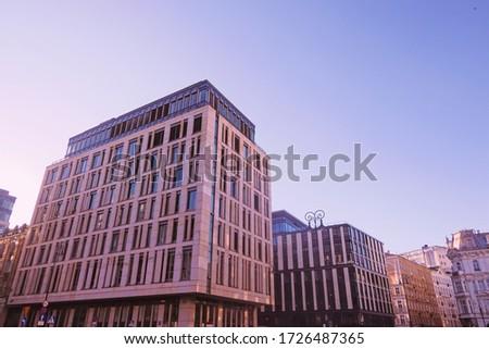 Detalhes clássico europeu arquitetura histórico edifícios Foto stock © Anneleven