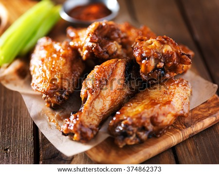Chicken Wings  Stock photo © zhekos