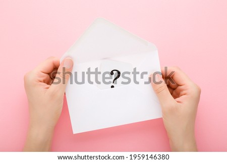 hand holding up the letter Q from the top Stock photo © stryjek