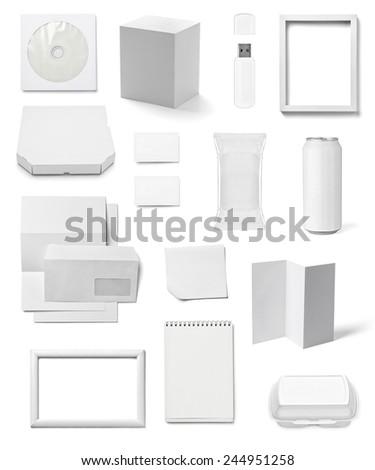 collectie · witte · boek · kantoor - stockfoto © zhukow